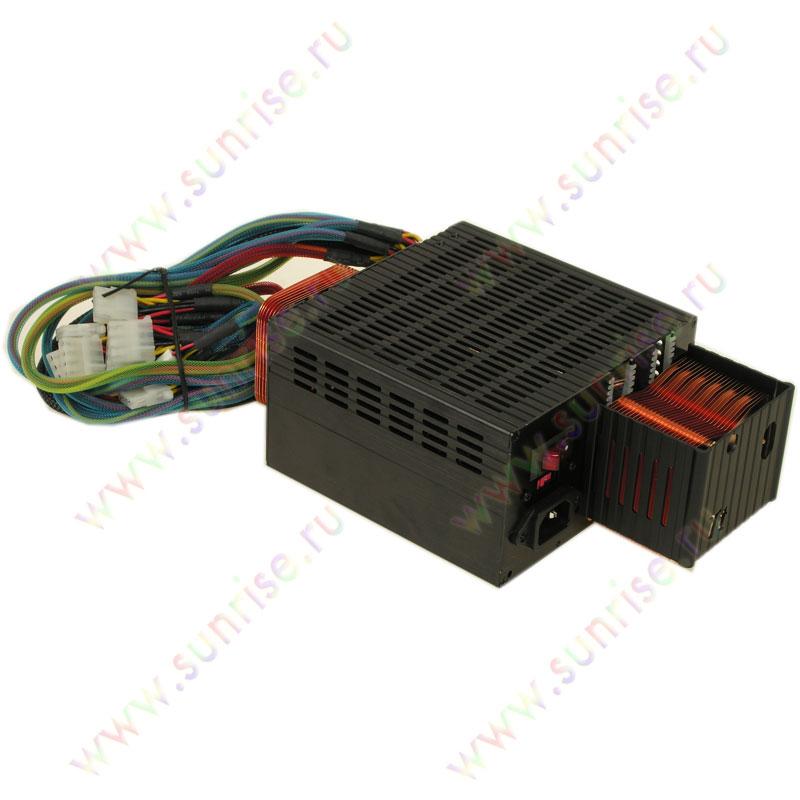 Блок питания ATX Thermaltake FanLess 350W (W0050E) Black, Passive PFC, 20p+4p, 2SATA.