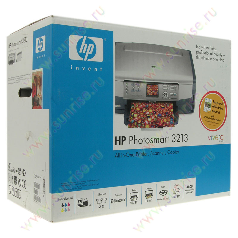 hp photosmart 3213 инструкция