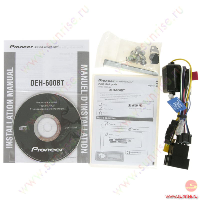 pioneer deh - 1052 инструкция