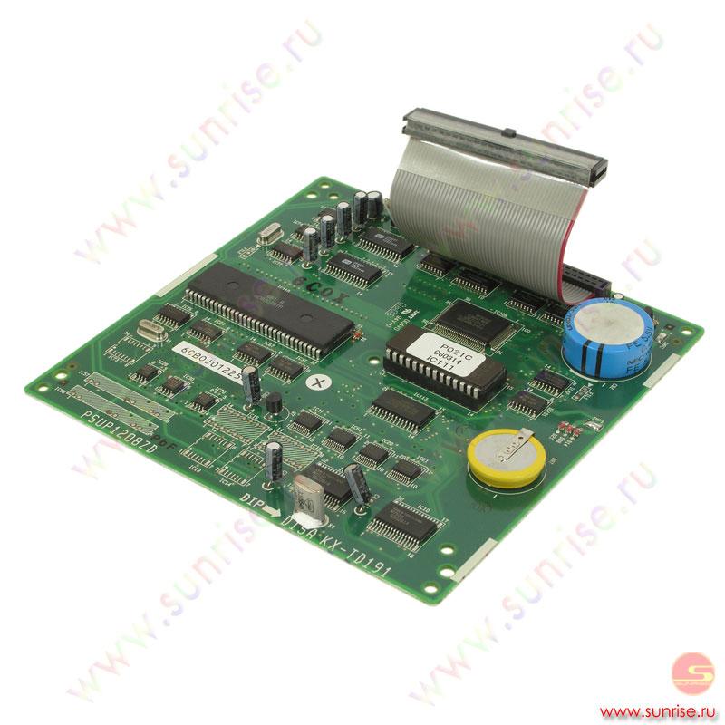 Для станций panasonic kx-td816, kx-td1232 и kx-td500 потребуется специальный кабель,распайку которого можно посмотреть