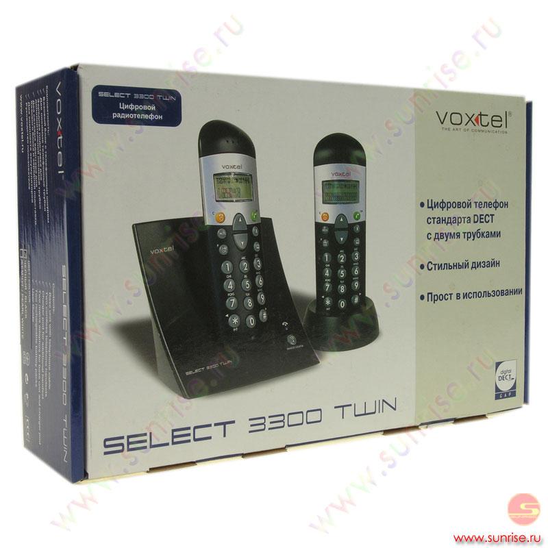 Инструкция к радиотелефонам voxtel