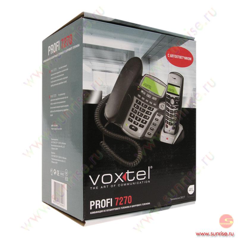 радиотелефон voxtel profi 7270