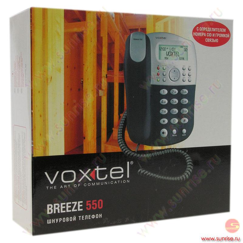 voxtel breeze 550 инструкция