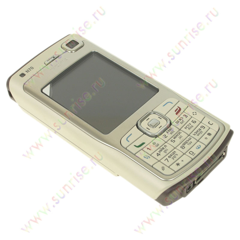 Телефон Nokia N70 ivory pearl.