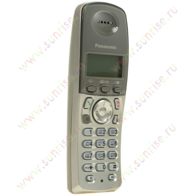 Новый цифровой беспроводной телефон panasonic kx-tcd215r с двумя беспроводными телефонными трубками