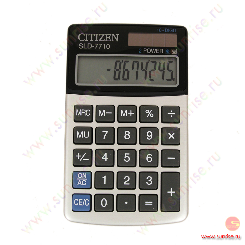 инструкции калькуляторов citizen