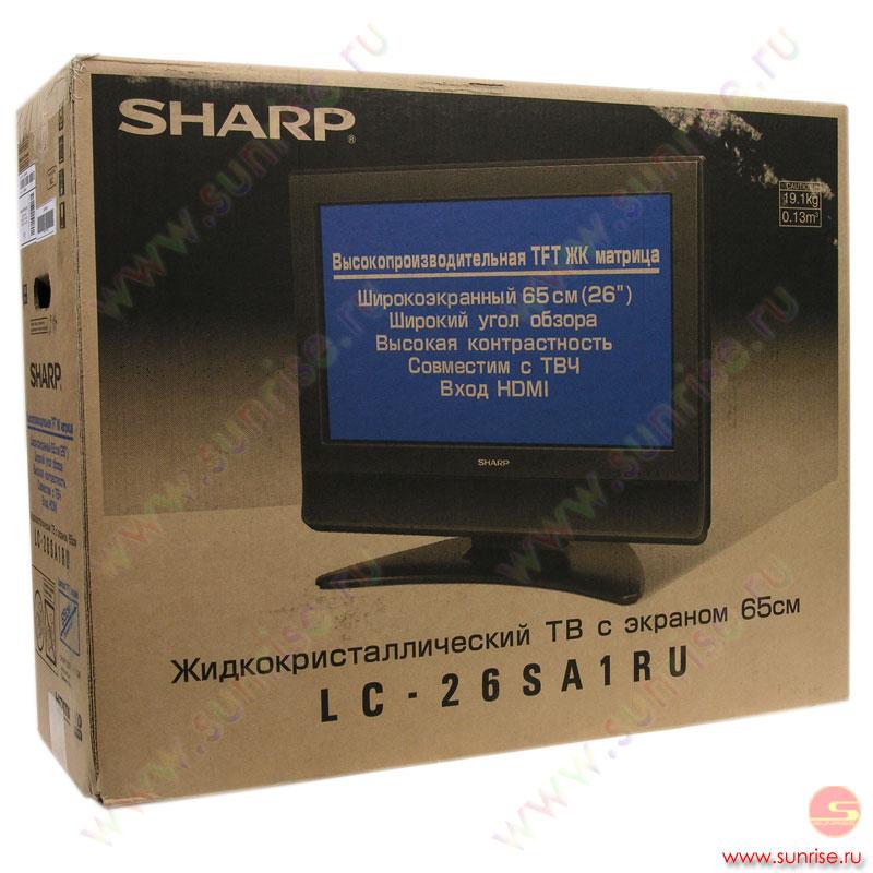 sharp lc-26sa1ru СХЕМА - Cхемы и описания на каждый день.