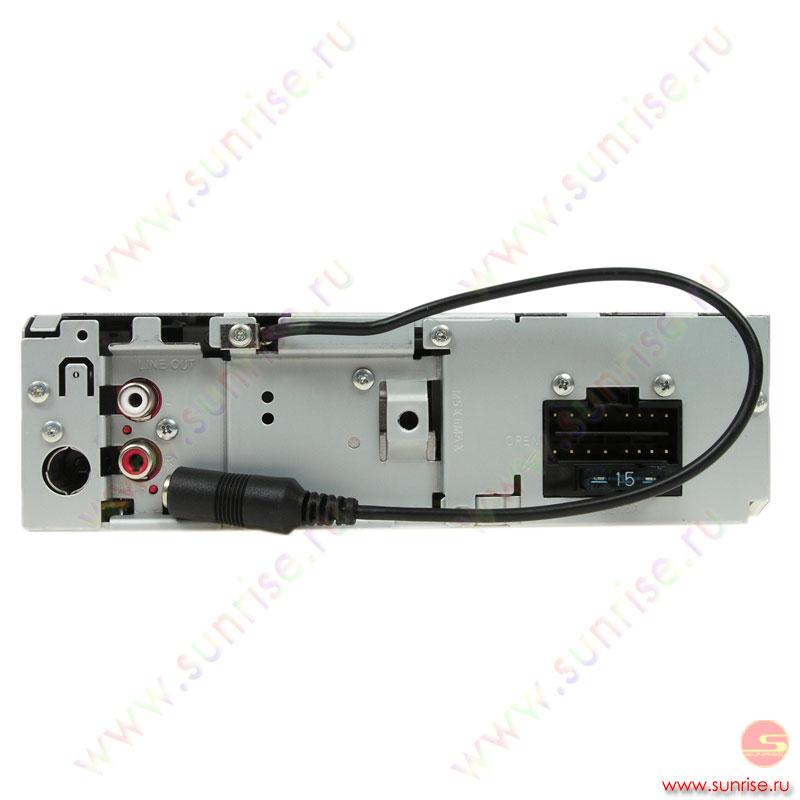 CD автомагнитола JVC KD-G332.