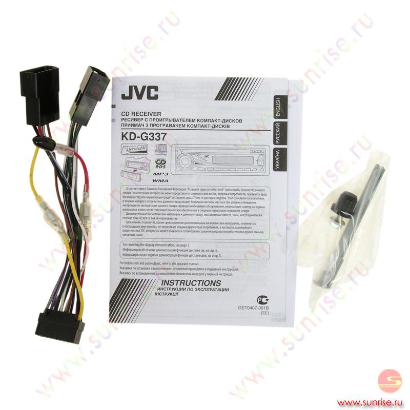 jvc kd g337 инструкция