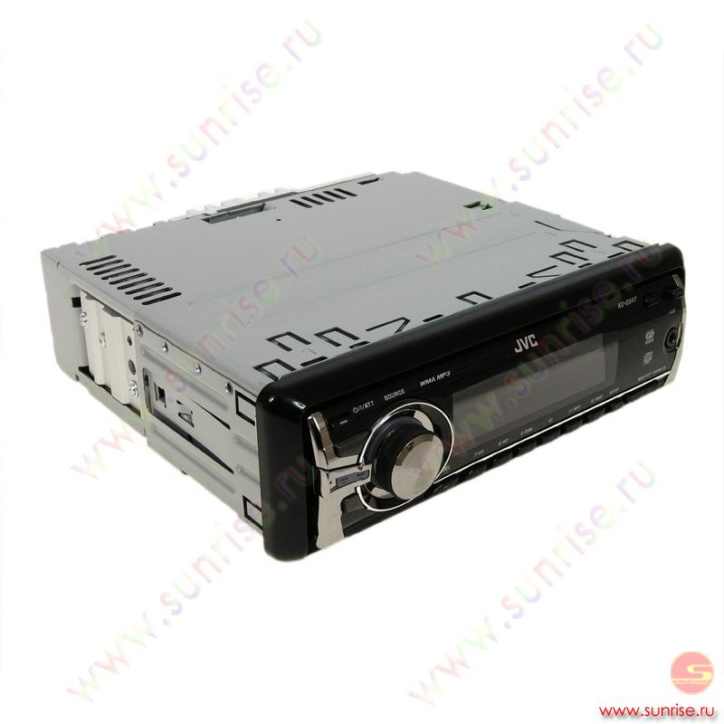 CD автомагнитола JVC KD-G547.