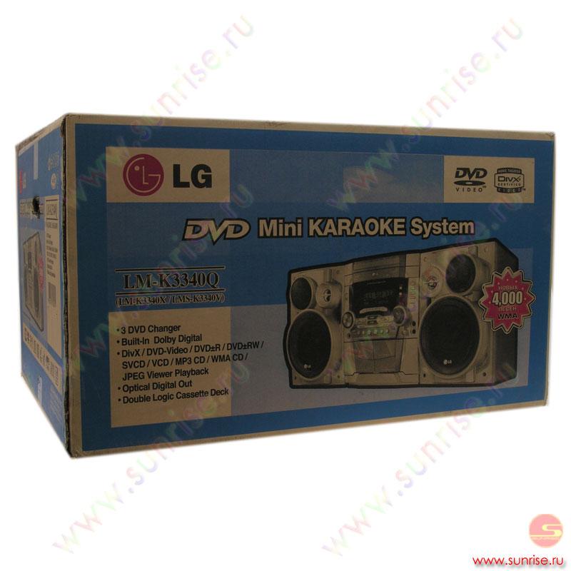 Миниаудиосистема LG LM-K3340Q.