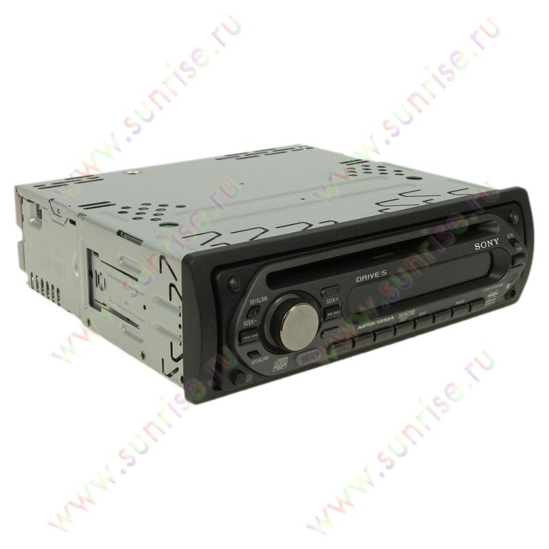 CD автомагнитола Sony
