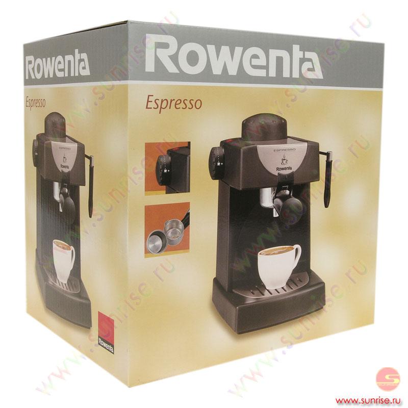 Кофеварка ровента эспрессо инструкция