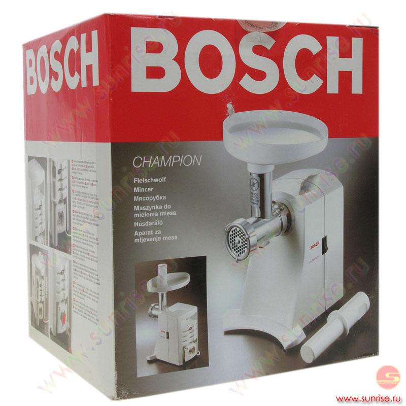 электромясорубка bosch инструкция