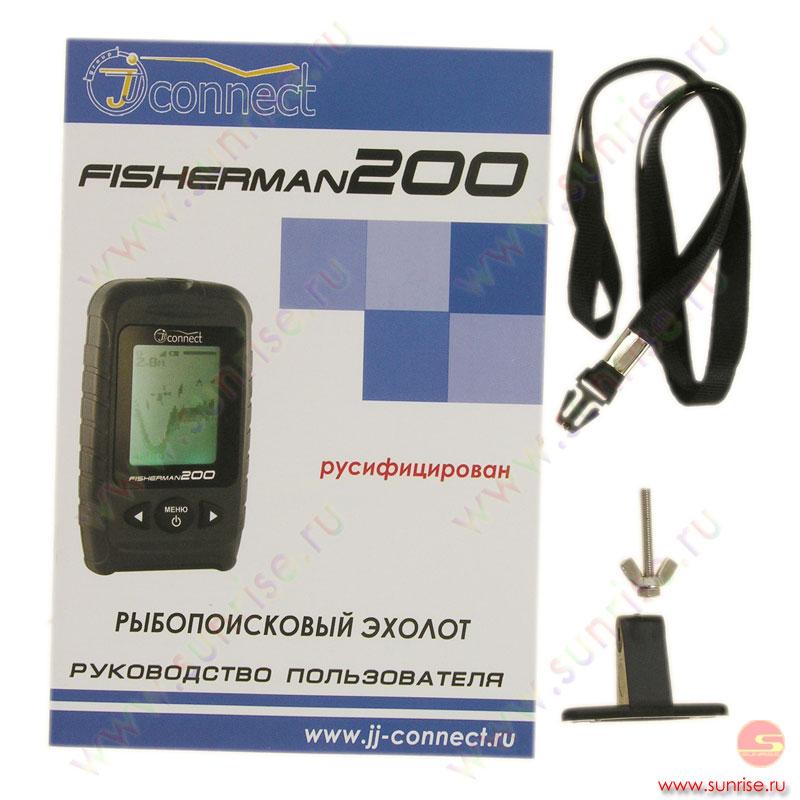 инструкция к эхолот jj-connect fisherman 600 duo