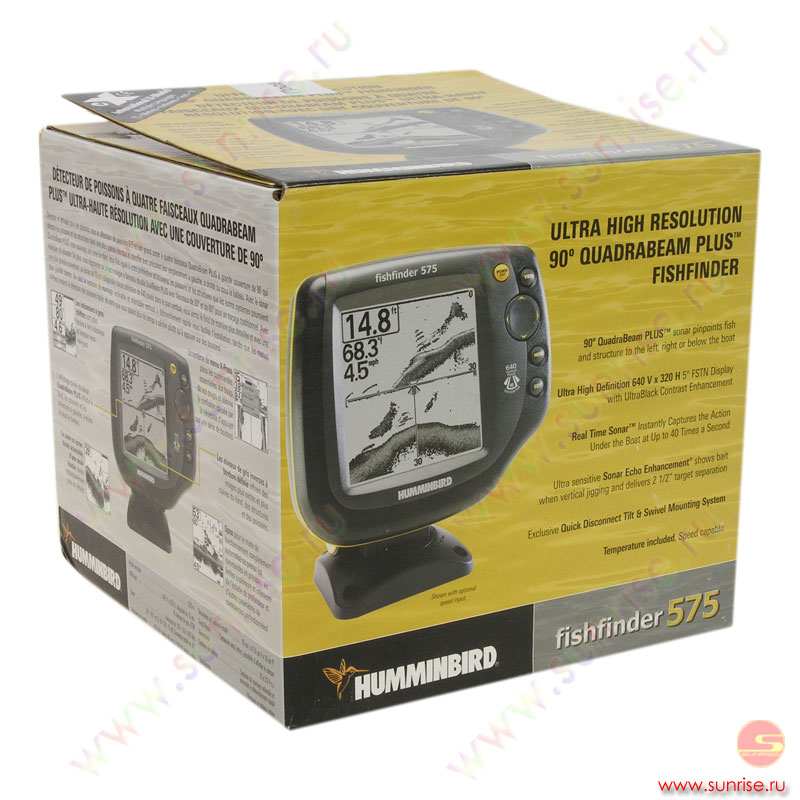 эхолот humminbird fishfinder 575 инструкция