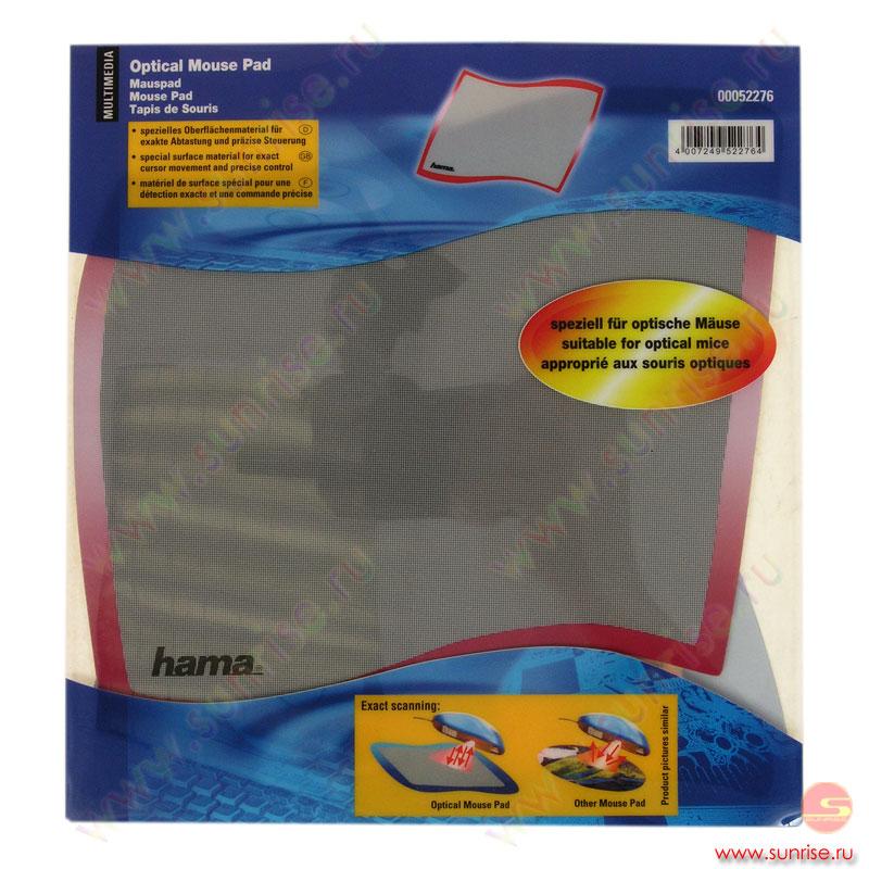 Коврик для оптической мыши Hama.
