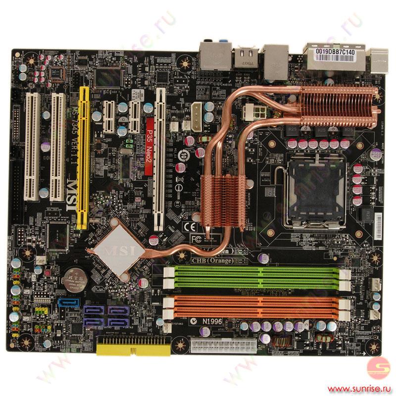 P35 neo2 хорошо работает с процессором е4600 при установки других процессоров не работает bios на msi p35 neo2