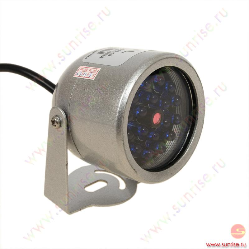Инфракрасный фонарь для видеонаблюдения своими руками 59