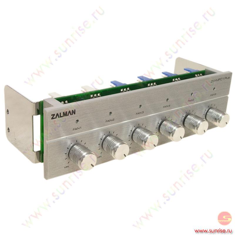 Контроллер вентиляторов ZALMAN (ZM-MFC1 plus) Silver.