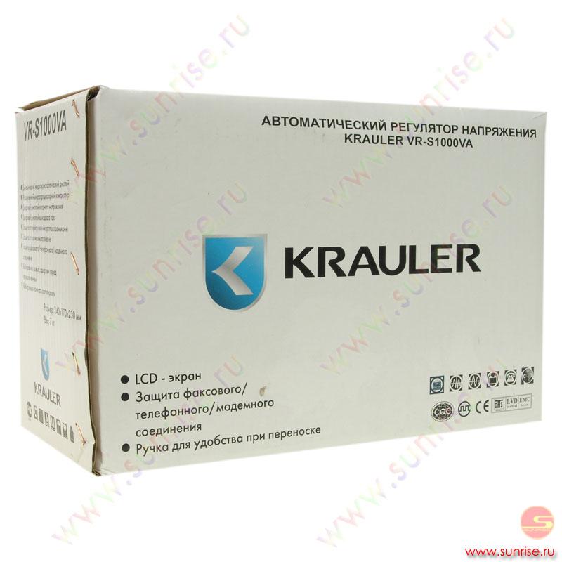 Стабилизатор Krauler VR-S1000VA.