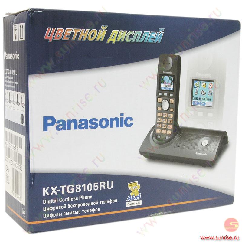 Panasonic Kx-Tg8105 Инструкция
