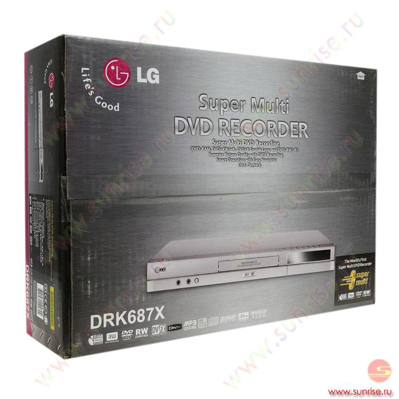 Lg Dvrk 687 X Руководство Пользователя