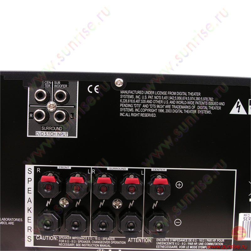 Электрическая схема на ресивер pioneer vsx-416.