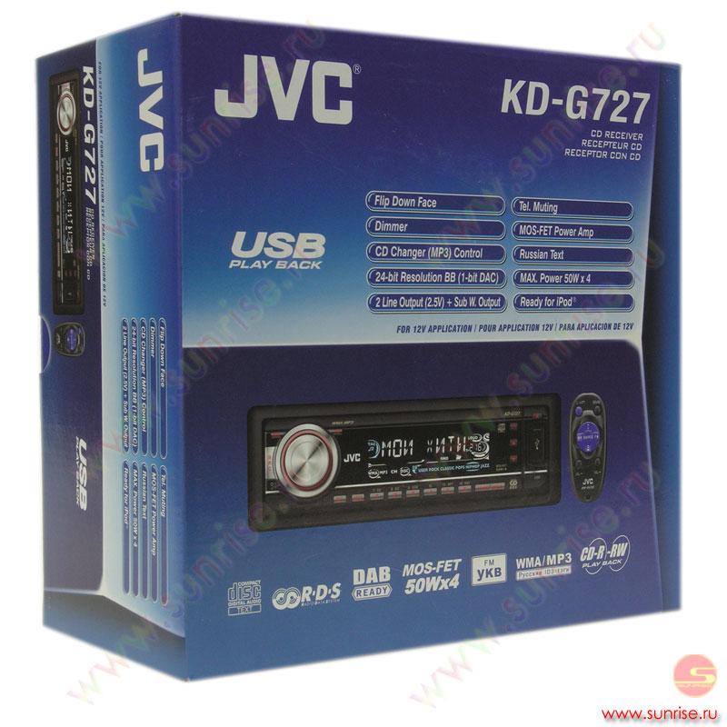 jvc kd g727 инструкция