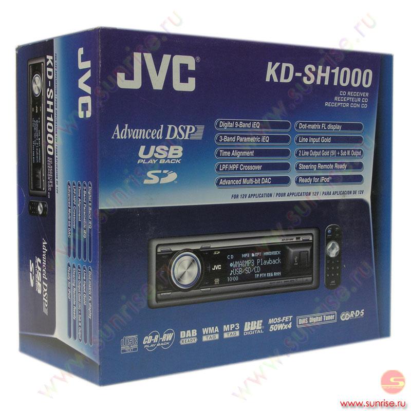 DVD / MP3 плеер JVC KD-AV7001