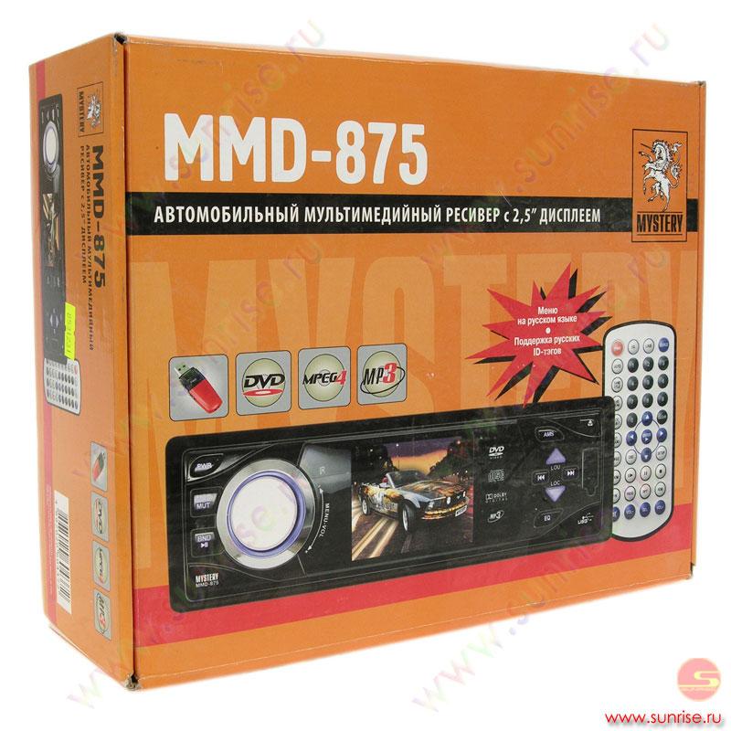 mystery mmd 875 схема