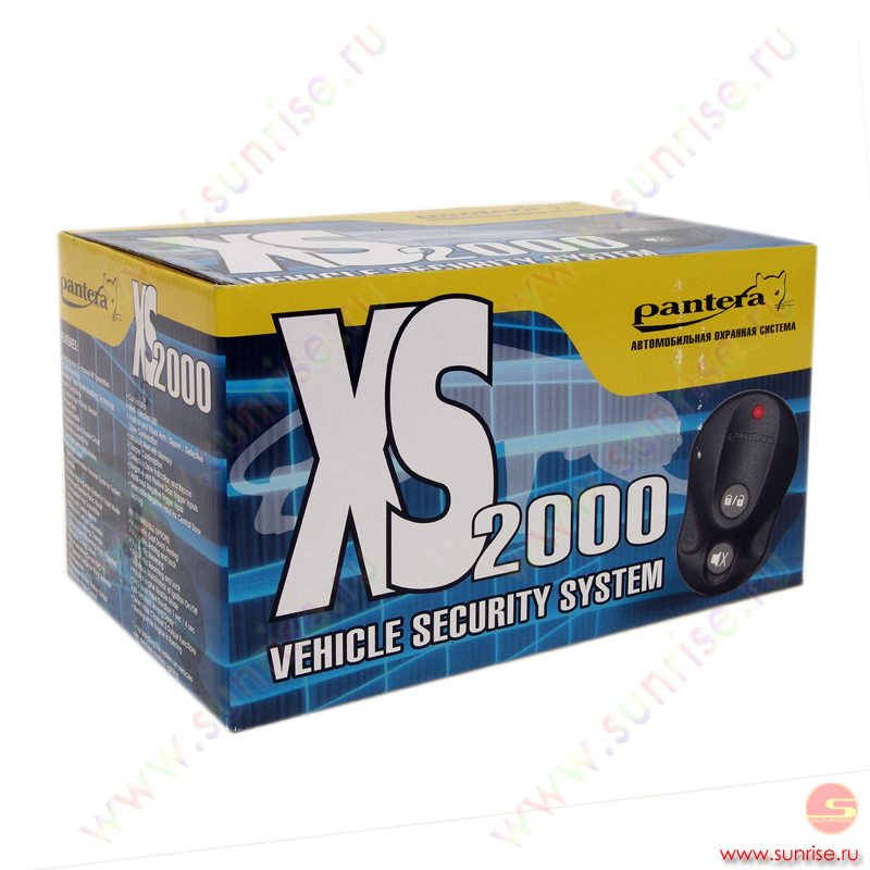pantera xs 2000 инструкция